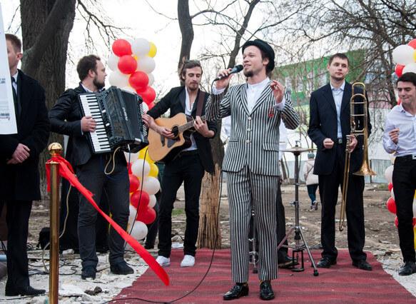 "Felix Schinder and Odessa music cooperative ""Dengi Vpered"""