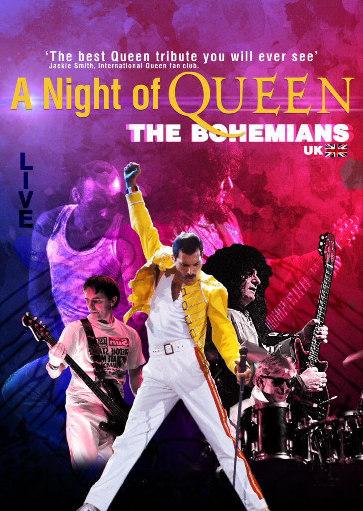 (Русский) The Bohemians. A Night of Queen / Богемианз. Ночь Queen